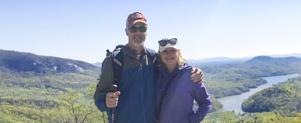 Chimney Rock State Park Hiking – 37th Wedding Anniversary